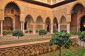 Maidens courtyard
