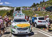 Ragt Semences Car In Pyrenees Mountains