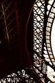 Eiffel Tower Paris Construction Detail
