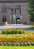 Pavia, Castle