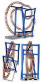 Flummox Roller Coaster Model