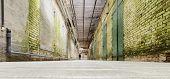 Alcatraz Underground Tunnel, San Francisco, California