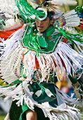 Powwow Fancy Dancer
