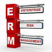 3D Modern Signboard Of Erm