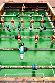 old table soccer game