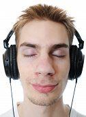 Teenager Musikhören
