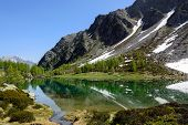 Glacial lake Arpy