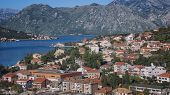 Aerial View Of Kotor Bay