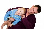 Father And Son Dressing Gown