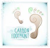 Spiral footprints