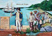 Mural tell story of acadians people