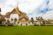 The Grand Palace, Bangkok. Thailand . Wat Phra Kaeo