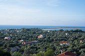 Landscape Of Lefkada Houses