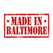 Made In Baltimore-stamp