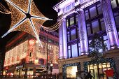 Christmas lights Oxford Street
