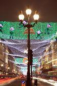 Christmas lights Regent Street