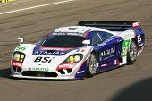 Le Mans Series Saleen S7 racing car