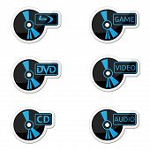 Icons optical disc