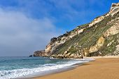 Beach with Mountain Landsape