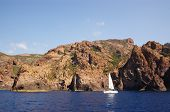 beautoful rocks of Scandola