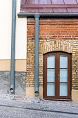 Old House With Gutter