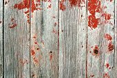Red Rustic Barn Wood Background