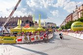 Final Stage Of Tour De Pologne In Krakow