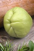 stock photo of christophene  - The chayote  - JPG