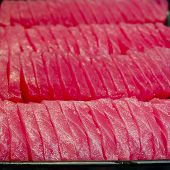 Sashimi Background - Japanese Sushi