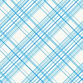 Abstract Seamless Pattern with Plaid Fabric on a white background.