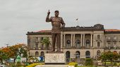 Statue Of Samora Moisés Machel At Independence  Square