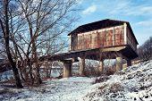 Pavia, Abandoned Seaplane Hangar