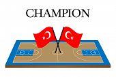Basketball Champion Turkey
