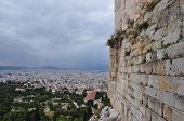 Acropolis Wall City Of Athens