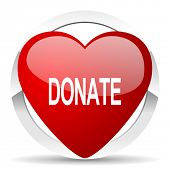donate valentine icon