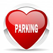 parking valentine icon