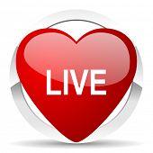 live valentine icon
