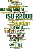 Iso 22000 Word Cloud
