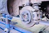 Brake disk and caliper assembly