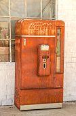 Old, Rusty Coca-cola Machine