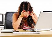 Women To Call In Desperation In The Office