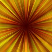 Sunshine - radial background