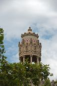 Cupola Of Casa Lleo Morera In Barcelona, Spain.