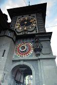 Medieval Zytglogge Clock Tower On Kramgasse Street In Bern