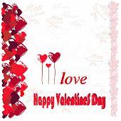 Hearts And Congratulations Happy Valentine's Day.1