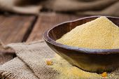 Portion Of Cornmeal
