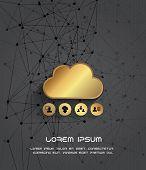 Cloud computing storage destinations