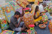 Painted Furnture, Indian Handicrafts Fair At Kolkata