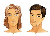Close-up portraits