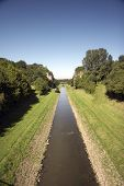 open waste water canal EMSCHER 01